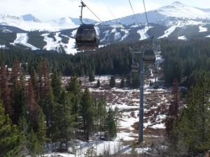 The BreckConnect gondola crosses over a prized 77-acre wetlands parcel in Breckenridge, Colorado.