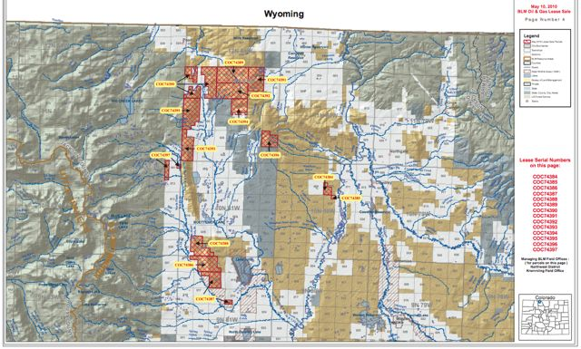 BLMs North Park Oil Lease Plan Challenged  Summit County