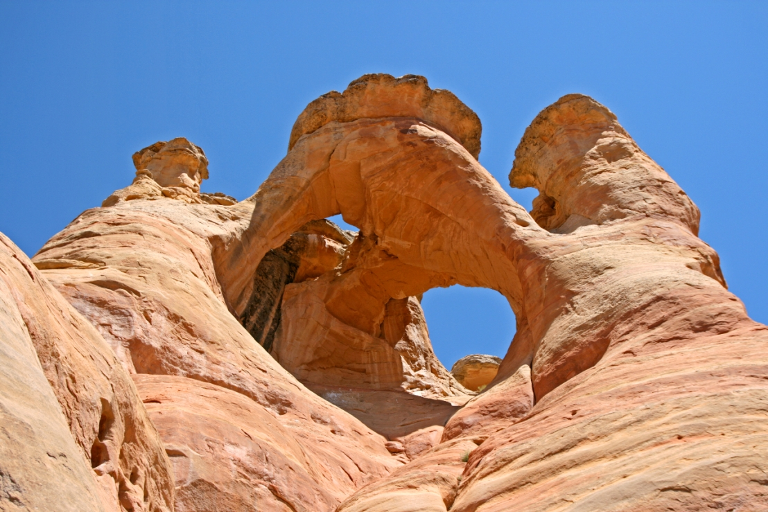 Crown Arch, near Grand Junction, Colorado.