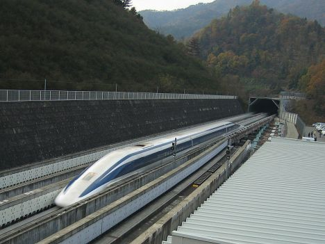 High-speed maglev in Japan