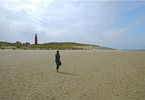 On the wide strands of Texel.