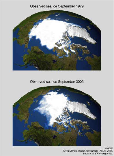 Polar Ice Cap Satellite NASA (page 2) - Pics about space