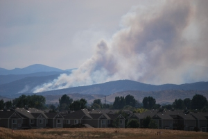 Reservoir Road Fire, Loveland Colorado