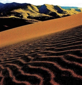Great Sand Dunes National Park, Colorado.