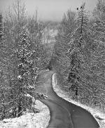 snowy rec path