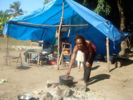 venders in the La Saline market. The economic situation in Haiti ...