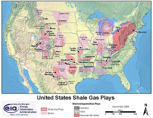 Natural Gas Drilling Summit County Citizens Voice - Map potential natural gas in us