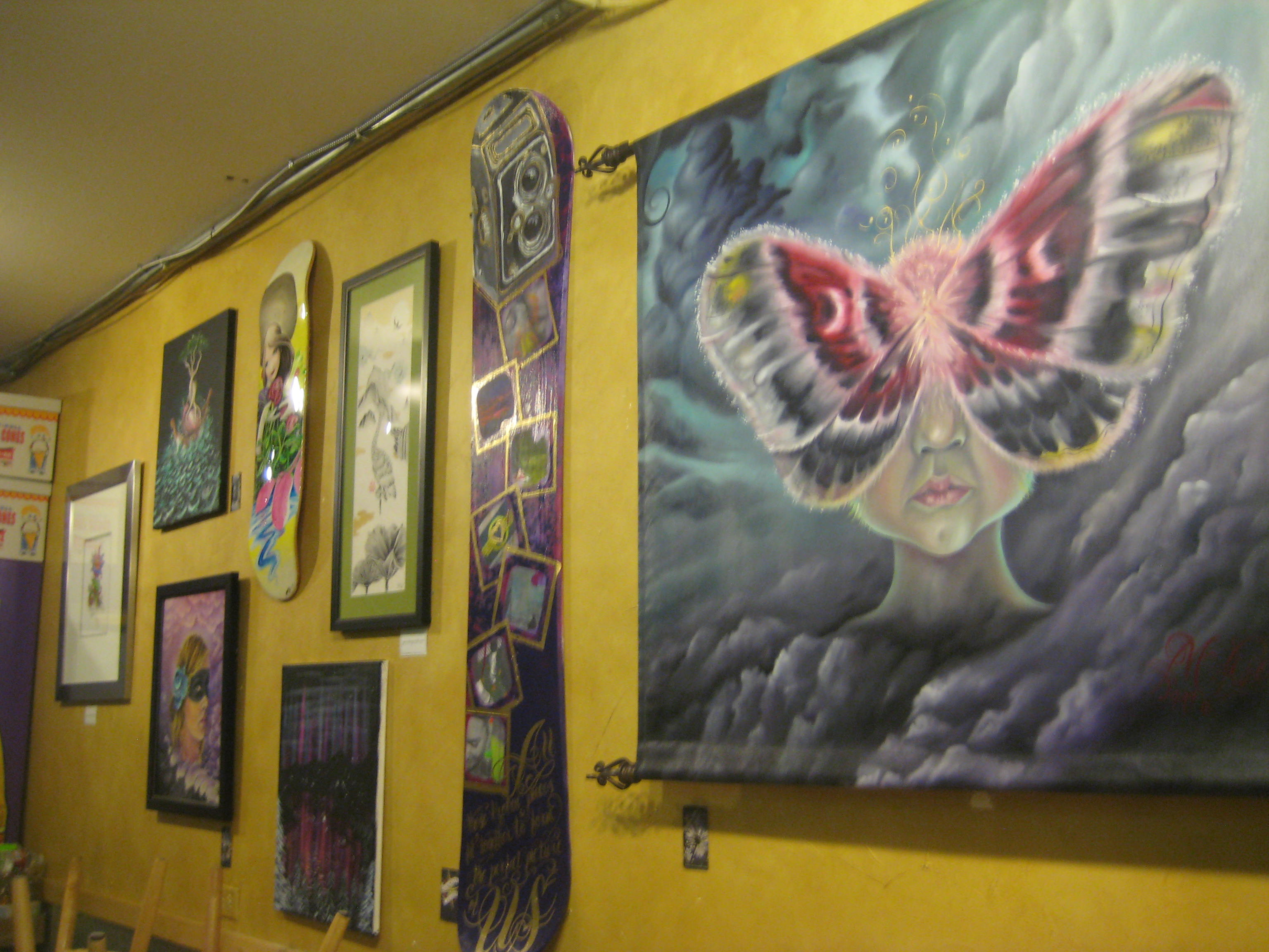 Breckenridge: Godspeed Collective showing art at Clint\'s – Summit ...