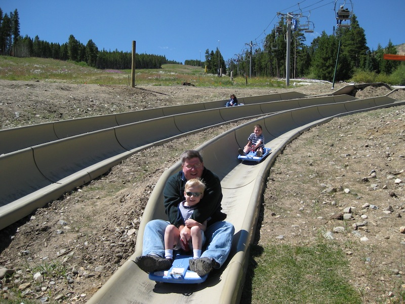 ... featured attractions; locals can sample some free rides on opening day