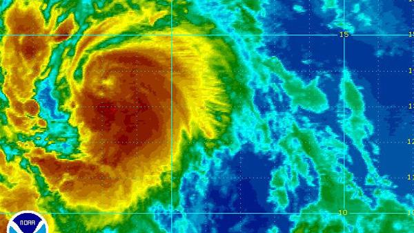 Tropical storm Katia, Hurricane Katia