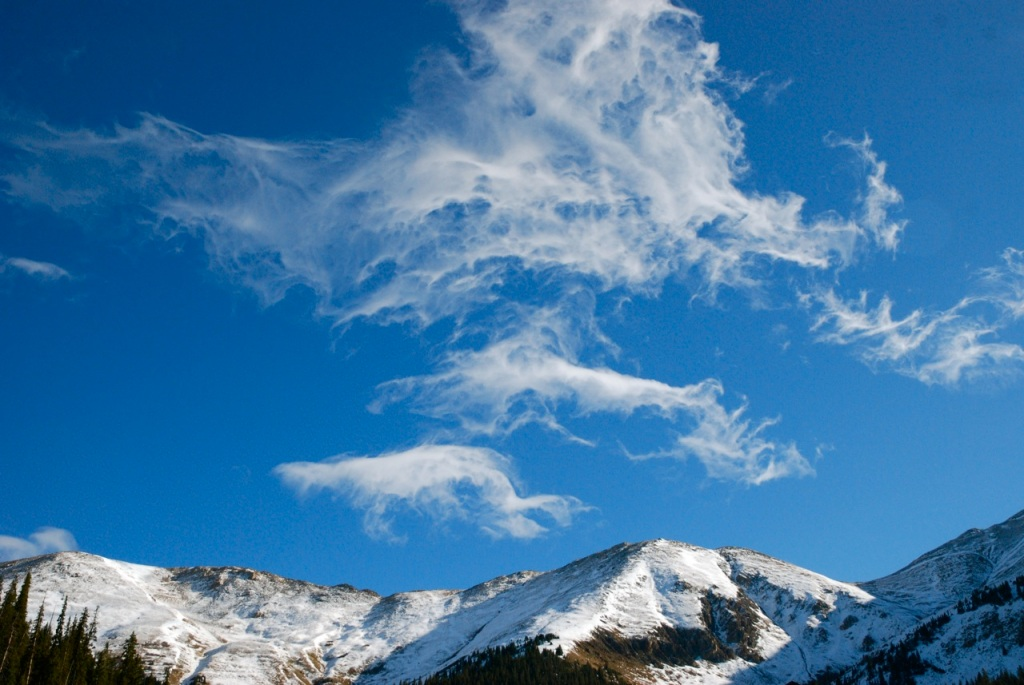 A lot of angels joined in the opening day celebrations at Arapahoe Basin.
