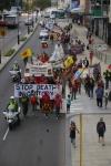 Anti-nuclear marchers in Australia.