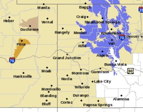 Winter weather advisory, 4 to 7 inches of snow possible Sunday night and Monday.