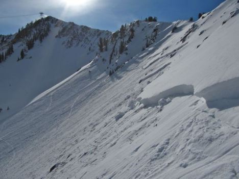 Avalanches in Utah highlight early season backcountry risks. PHOTO COURTESY UTAH AVALANCHE CENTER.