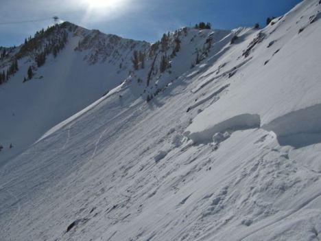 Avalanches in Utah highlight early season backcountry risks. PHOTO COURTESY UTAH AVALANCHE CENTER.