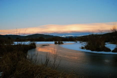 November often brings the formation of spectacular lenticular clouds over the Continental Divide.