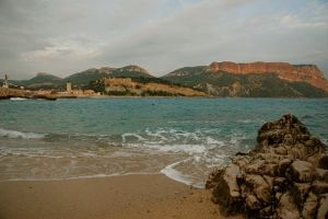 The Mediterranean at Cassis, France.