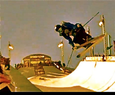 Breckenridge superpipe Dew Tour 2011
