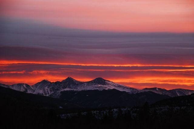 November sunrise.
