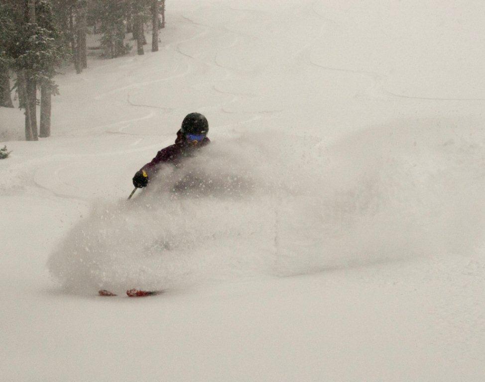 Powder at Monarch Mountain. PHOTO COURTESY CSCUSA/ERIC RAMSAY