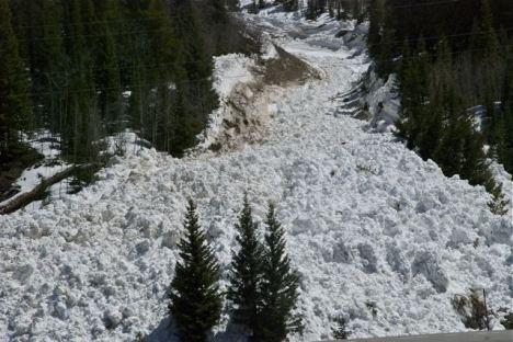 Colorado avalanche Copper Mountain
