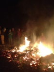 Telluride residents and visitors hold a sacrificial bonfire in hopes of pleasing the snow gods. PHOTO COURTESY CSCUSA.