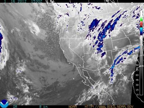 A juicy storm is lining up to drop several inches of new snow across Colorado Monday.