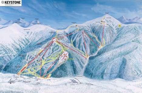 Keystone Ski Area.