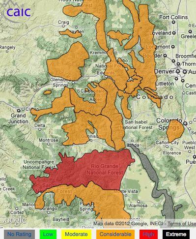 Dangerous avalanche conditions persist across Colorado's backcountry.
