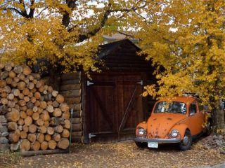 The village VW.