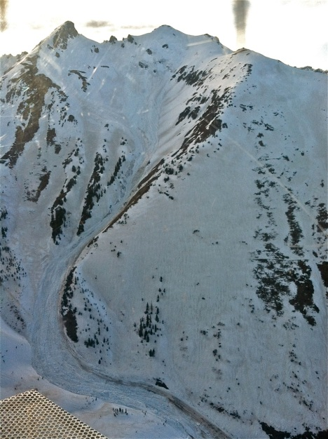 Upper Paradise Basin slide. PHOTO COURTESY COLORADO AVALANCHE INFORMATION CENTER.