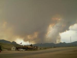 Hewlett Fire Colorado.