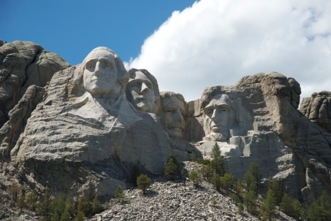 Mt. Rushmore, South Dakota. PHOTO BY BOB BERWYN.