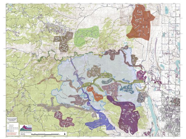 High Park Fire Map.High Park Fire Grows To 52 000 Acres 15 Percent Contained Summit