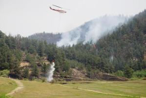 High Park Fire, aerial firefighting