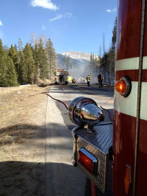 Summit County crews are helping out on several wildfires in the region.