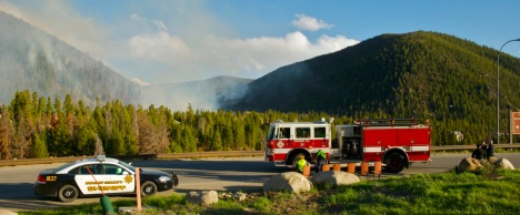 A June, 2011 wildfire in Keystone Gulch burned within a few hundred feet of vacation homes and full-time residences at the Colorado resort.