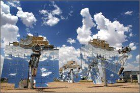Going solar ...