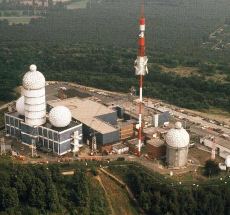 A Cold War listening station near Berlin.