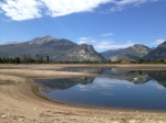 Dillon Reservoir's water level has dropped to its lowest level since 2007.