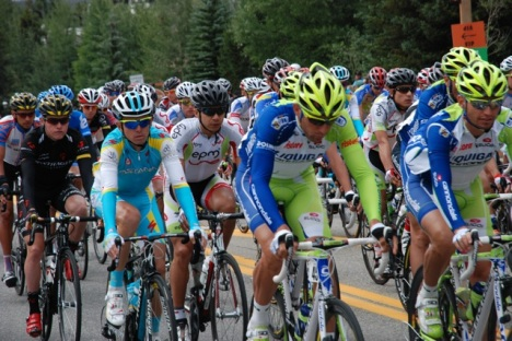 Faces in the peleton ...
