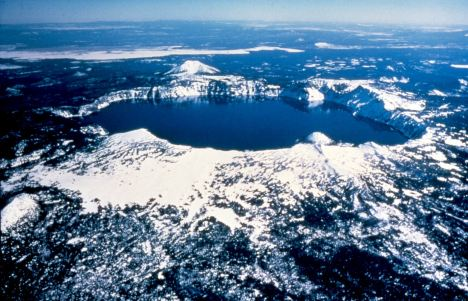 The National Park Service hopes to protect Crater Lake from invasive species by establishing new rules for scuba diving and other uses. Photo courtesy National Park Service.
