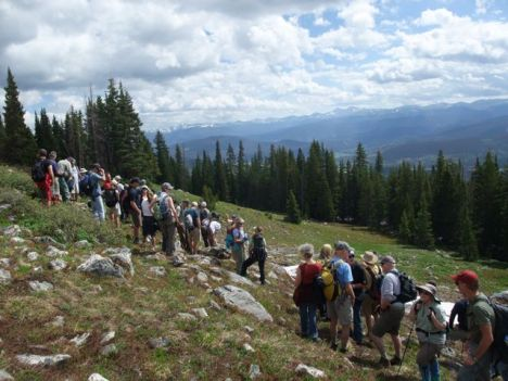 Community interest led to a Forest Service-led site visit last summer, attended by dozens of Breckenridge residents and visitors.
