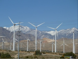 Wind farming in the West.