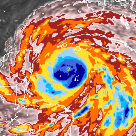 Hurricane Gilbert, courtesy NOAA.