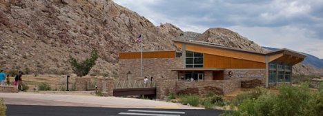 Dinosaur National Monument visitor center. Photo courtesy National Park Service.