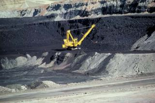 The U.S. is the second-largest producer of coal in the world, thanks in part to massive surface mines like this one in Wyoming. Photo courtesy BLM.