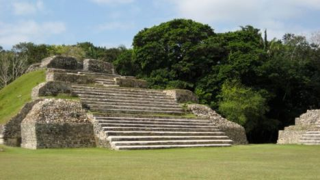 The Altun Ha Maya site, near Belize City.