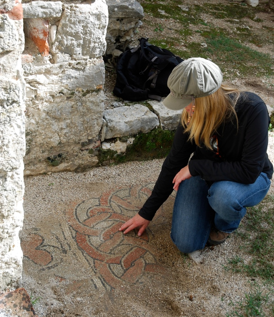 In Butrint, Albania, @CoTravGirl ponders the secrets of bygone civilizations. We've always though that the World Heritage site at Butrint is one of the best-kept travel secrets as place where you're free to wander intimately among the ruins of Byzantine, Greek and Roman cities, and even touch some of the stunning mosaics.