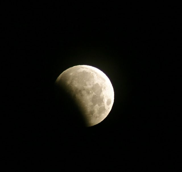 Partial lunar eclipse 2012